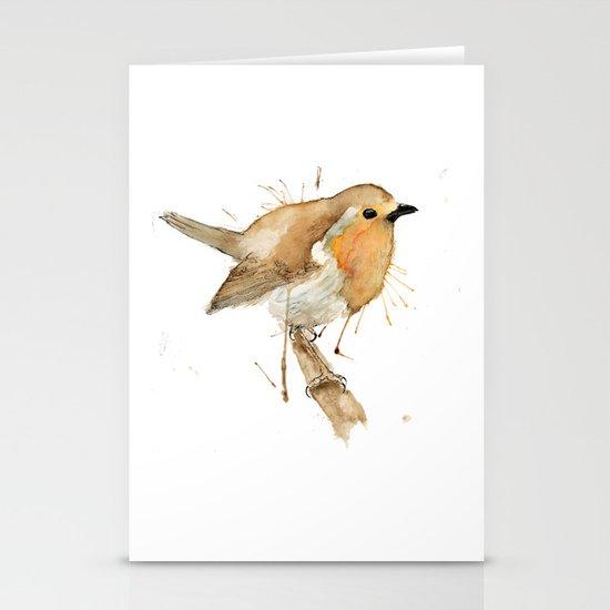 Ready Robin Stationery Card