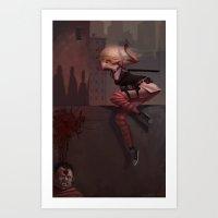 Bambi The Zombie Slayer Art Print