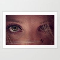 Eye Travel Art Print