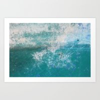 Into The Ocean - JUSTART… Art Print