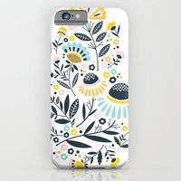 iPhone & iPod Case featuring Geo Garden by a. peterson