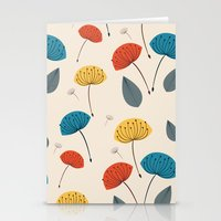 Dandelions In The Wind Stationery Cards