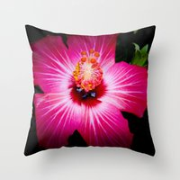 Bursting With Life Throw Pillow