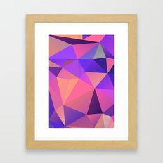 Geometric XX Framed Art Print