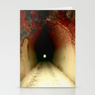 Light At The End Of The … Stationery Cards