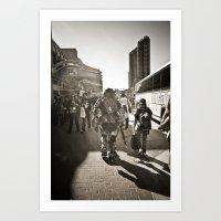 walkaway Art Print