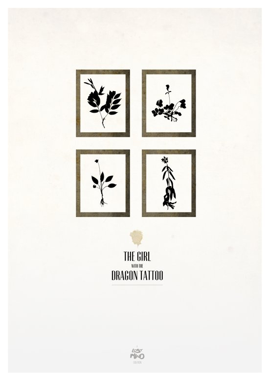 The Girl With The Dragon Tattoo Art Print