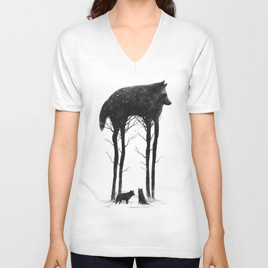 Standing Tall V-neck T-shirt