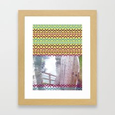 AZTEC 'Door Into Summer'_1-2 Framed Art Print