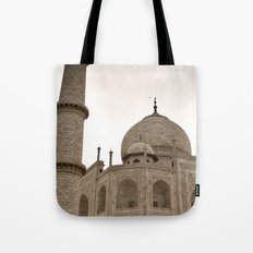 A teardrop Tote Bag