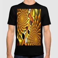 Fractal Mens Fitted Tee Black SMALL