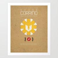 HOUSE CORRINO Art Print