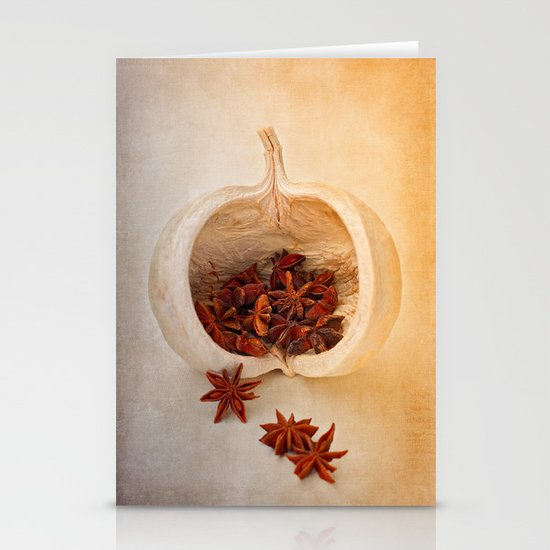 STAR ANISE Stationery Card