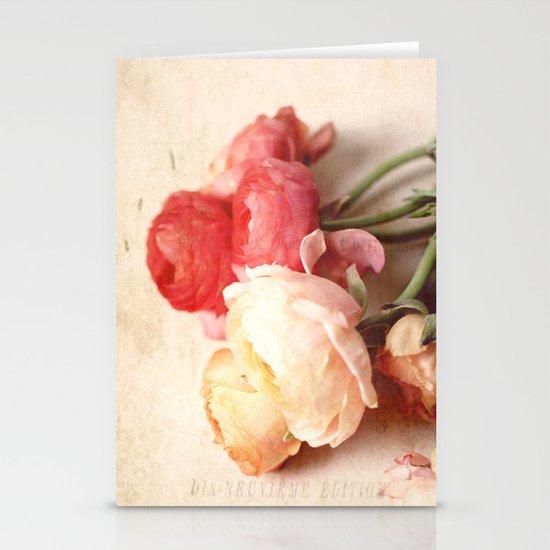 Romantic Heart Stationery Card