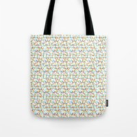 Scribbled Unicorns Tote Bag