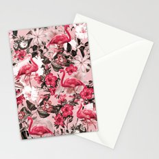 Floral and Flemingo III Pattern Stationery Cards