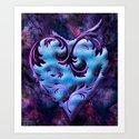 Heart Design Art Print