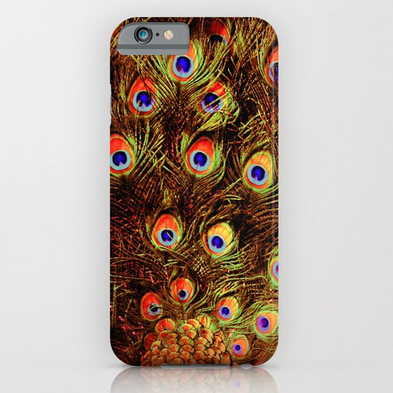 fiery feathers iPhone & iPod Case