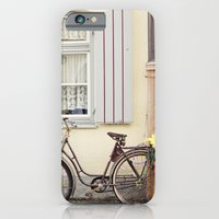 iPhone & iPod Case featuring Retro bike by Ana Guisado