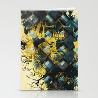 Abstract Thinking Remix Stationery Cards