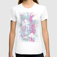 palm trees T-shirts featuring Palm Trees by Wendy Ding: Illustration
