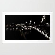 Margaret Bridge I. Art Print