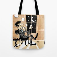 A Cigar At The 15th Stre… Tote Bag