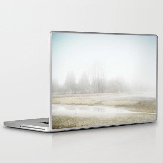 Mysterious Treeline Laptop & iPad Skin