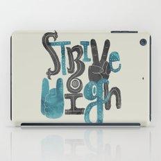 Strive High iPad Case