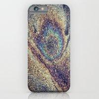 Peacock Oil iPhone 6 Slim Case