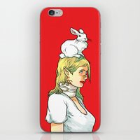 Fragile Girl iPhone & iPod Skin