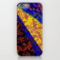 iPhone & iPod Case featuring Aztec Geometric Beam by AJJ ▲ Angela Jane Johnston