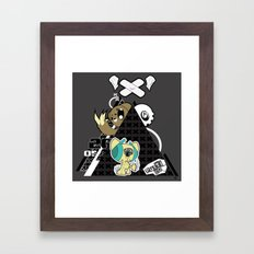 Nightmare Mash Framed Art Print