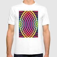Waves Mens Fitted Tee White SMALL