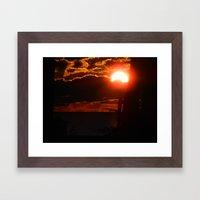 Under the Sun  Framed Art Print