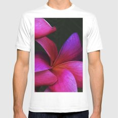 Flowers Mens Fitted Tee White SMALL