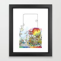 you're COLOR - Page 12 Framed Art Print