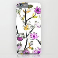 Spring Flowers Slim Case iPhone 6s