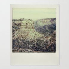Colorado National Monument - Polaroid Canvas Print