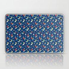 blossom ditsy in monaco blue Laptop & iPad Skin