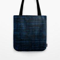 Platno (black And Blue) Tote Bag