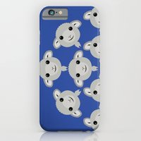 iPhone & iPod Case featuring Sheep Circle - 3 by Loesj