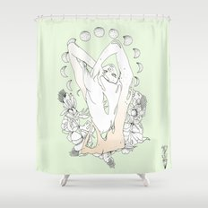 P H A S E S  Shower Curtain