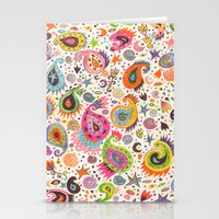 Pretty Paisley Stationery Cards