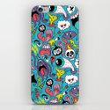 Doodled Pattern iPhone & iPod Skin