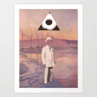 A Gentleman And A Schola… Art Print