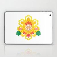 Yellow Lotus Rose Laptop & iPad Skin