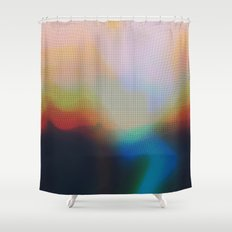 Glitch 07 Shower Curtain