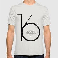 Jpeople Magazine 16 / Truth, Style & Imagination Mens Fitted Tee Silver SMALL