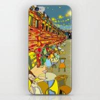 Le Cafe de Nuit  iPhone & iPod Skin